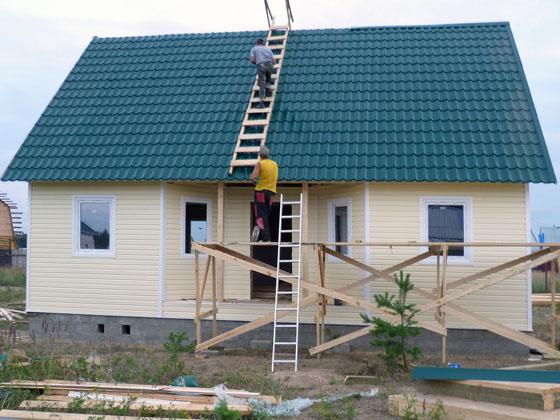 Каркасный одноэтажный дом своими руками 6 на 6