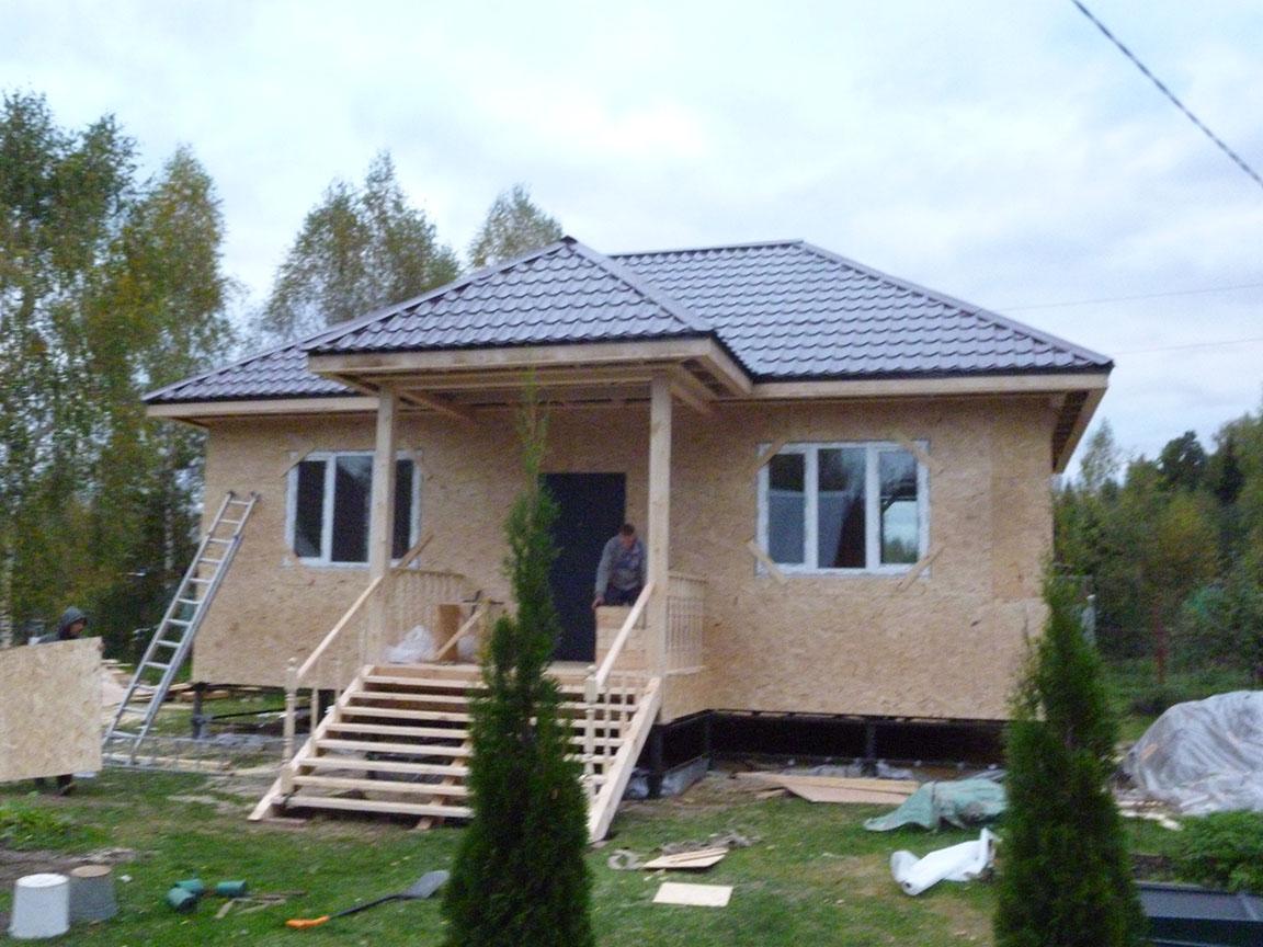 Обшивка дома сайдингом цена за квадратный метр в Нижнем