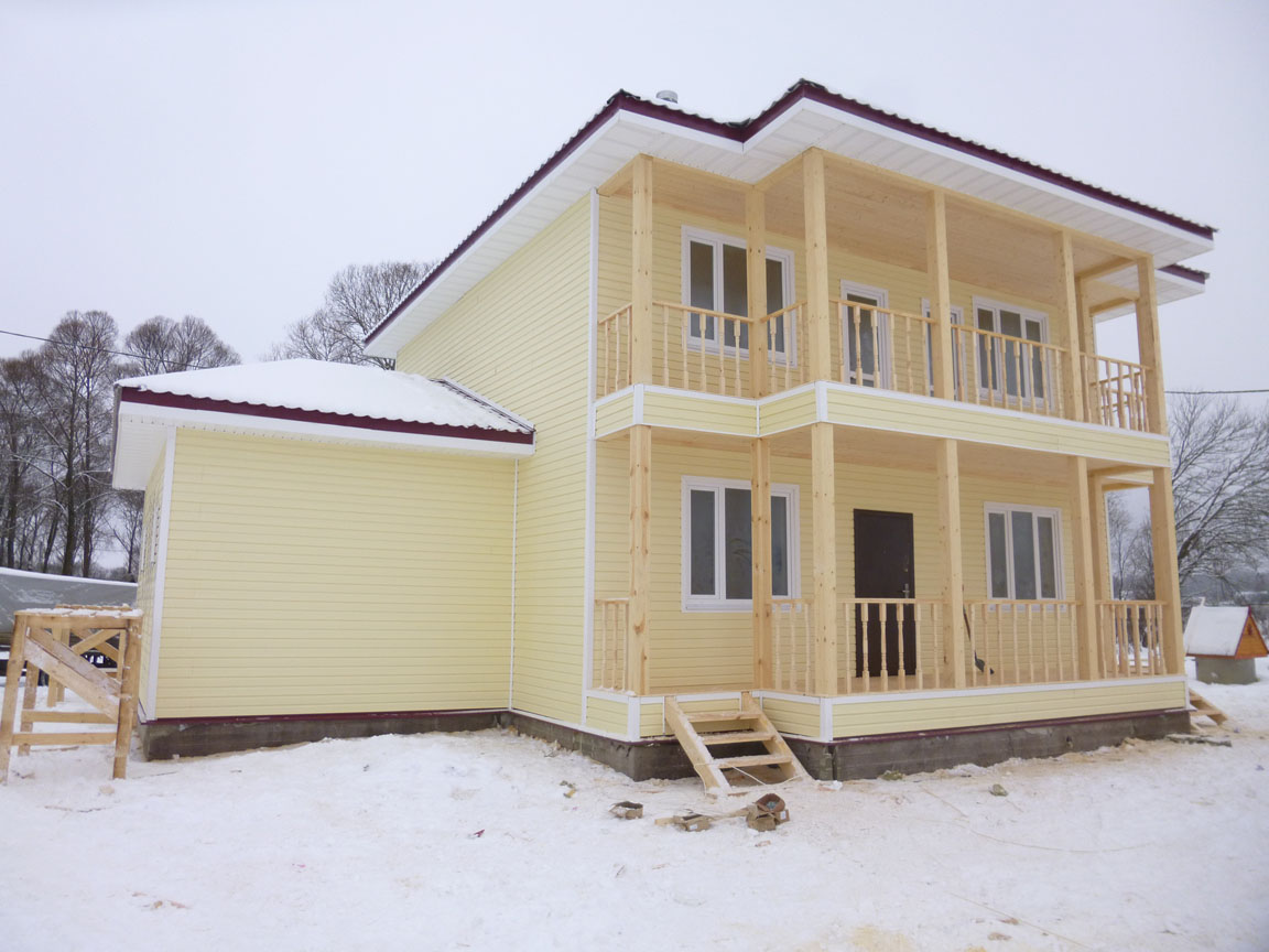 Дом 8х9