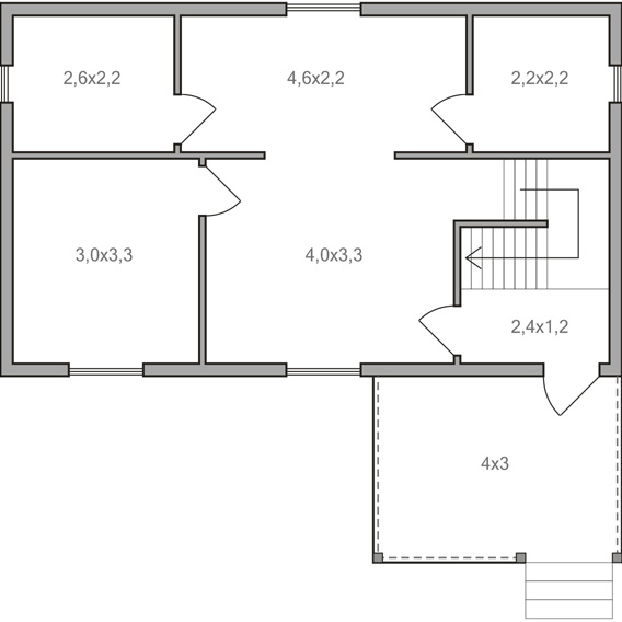 Дом 6 9 из бревна цена