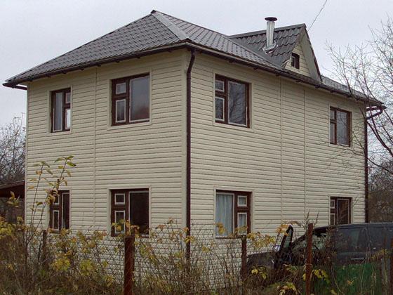 Двухэтажный дом 6х8,5