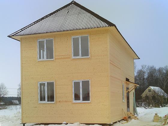 Фото дома 6 на 10 двухэтажный