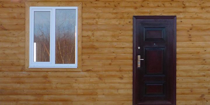 Металлическая дверь в частный дом своими руками 836
