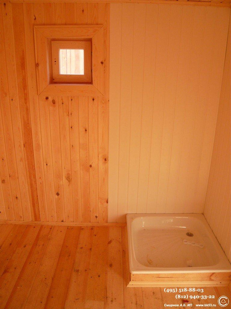 Строительство одноэтажной каркасной бани под ключ.
